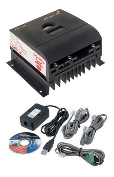 Controlador Carga Solar Lcd Cx4820 + Interface Comunicação