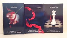 Box De 3 Livros: Lua Nova, Eclipse E Amanhecer