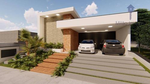 Casa 3 Suítes À Venda, 181 M², Jardim Residencial Chácara Ondina Em Sorocaba/sp - Ca0513