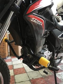Slider Deslizador Burrera Defensa Motocicleta Honda Xr 150l