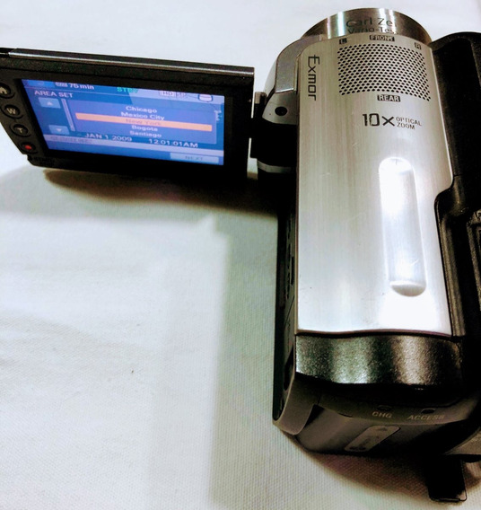 Filmadora Sony Hdr-xr100 Full Hd Alta Definição Ótimo Estado