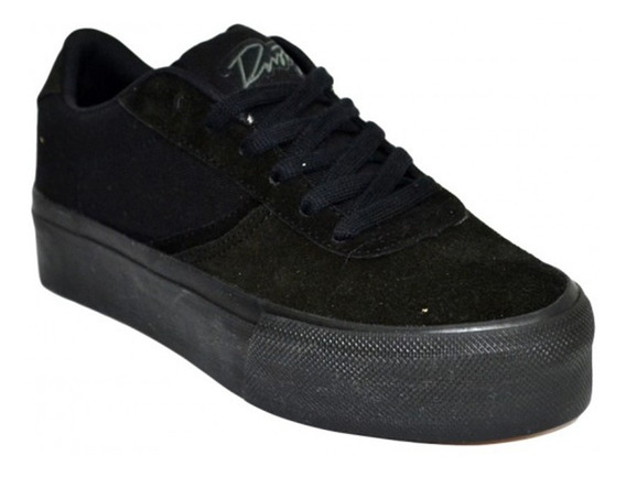 Zapatillas Asil Superhigh Total Black Rusty