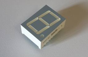 Kit 10 Displays Led 7 Segmentos 0,8 Anodo Sunled Xdmr20a-1