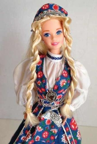 Barbie Norwgeian Coleccionable Muñeca Colección