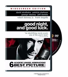 Dvd Cine Film Usa Good Night And Good Luck George Clooney