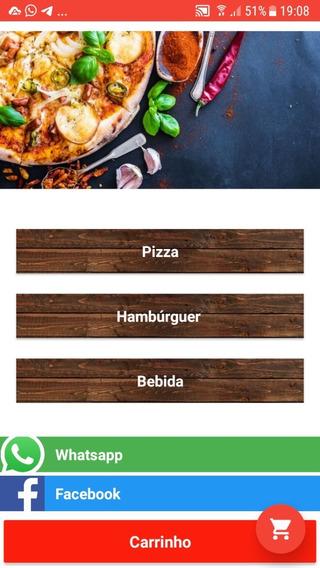 Aplicativo Delivery Para Pizzarias, Lancherias. Assinatura Mensal