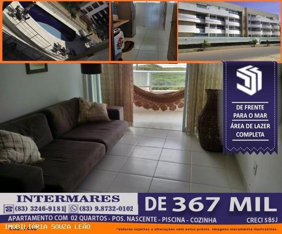 Apartamento Para Venda Em Cabedelo, Intermares, 2 Dormitórios, 1 Suíte, 1 Banheiro, 1 Vaga - 7448