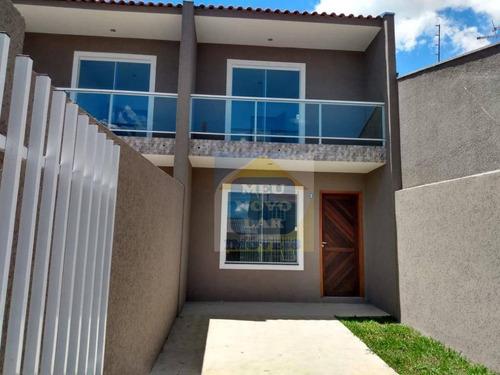 Sobrado Com 2 Dormitórios À Venda, 76 M² Por R$ 225.000,00 - Cidade Industrial - Curitiba/pr - So0389