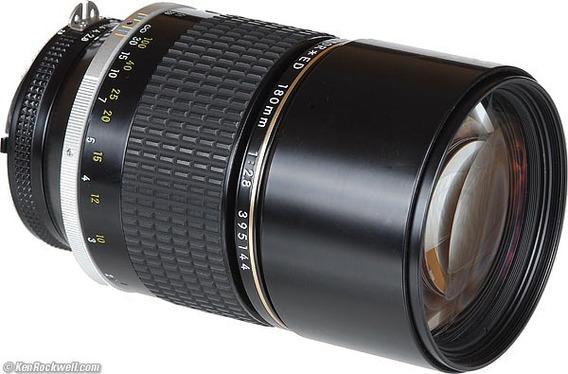 Lente Nikkor Ais 180mm F2.8 Fx