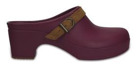 Zapato Crocs Dama Sarah Clog Ciruela