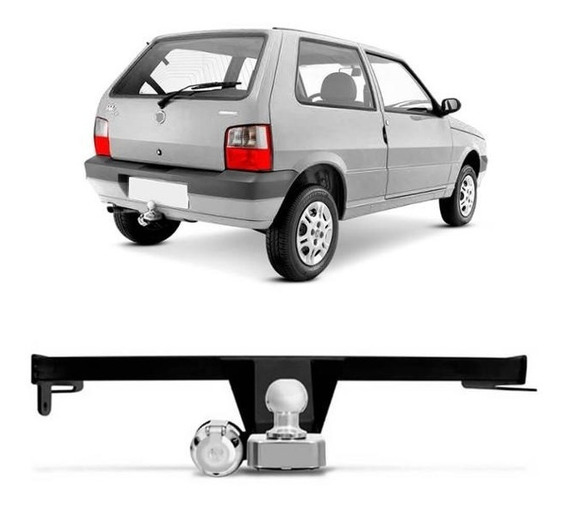 Engate Reboque Uno Mille 2004 A 2010 2011 2012 500 Kg