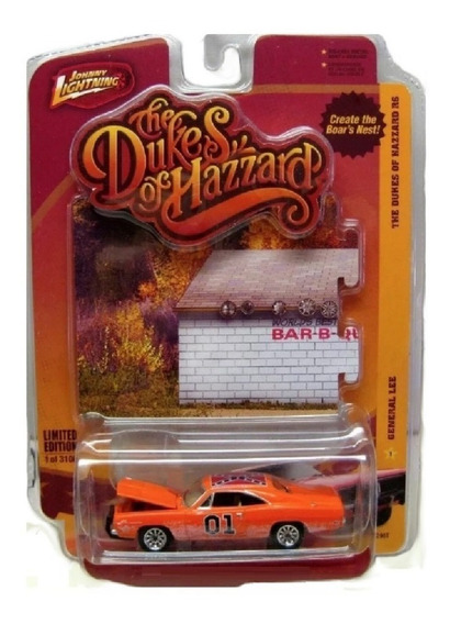 General Lee Dodge Charger Johnny Lightning R6 Solo Envios