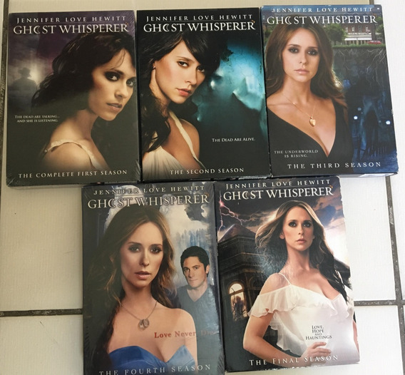 Dvd Ghost Whisperer: The Complete Series Inglês