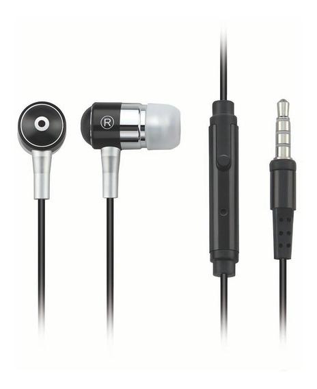 Fone De Ouvido Multilaser Preto Com Microfone - Ph059