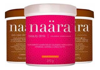 Combo Naara Tangerina E Chocolate - Colágeno Hidrolisado !!