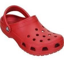 Crocs Original Classic Rojo Oscuro Adulto