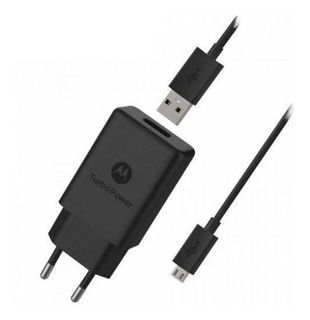 Carregador Turbo Power 15w Motorola Micro Usb-b V8 ( Sc-28 )