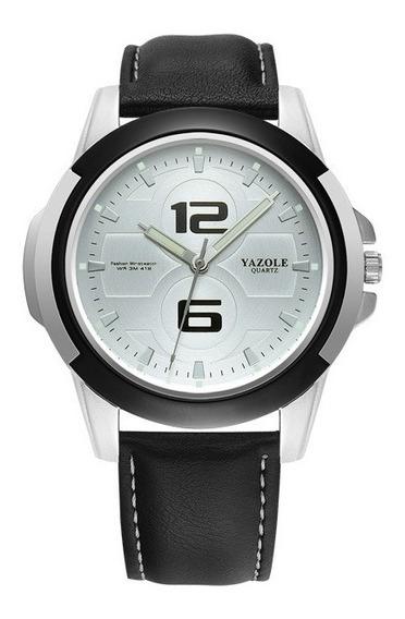 Reloj Tipo Militar Sport 4 Colores, Correa De Cuero, Análogo