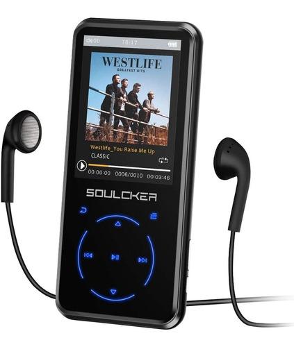 Reproductor Mp3 16 Gb Bluetooth 4.0 Fm Grabacion Voz Correr