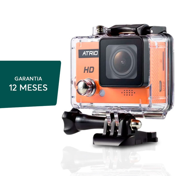 Camera Ação Hd Action Cam Go Sports Pro Full Hd Prova D