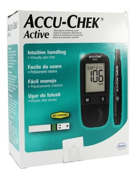 Glucómetro Digital Active Accu-chek