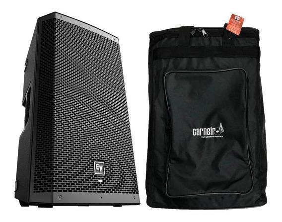 Caixa Ativa Electro Voice Ev Zlx12p Zlx 1000w + Capa