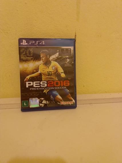 Jogo Pes 2016 Ps4 Pro Evolution Soccer