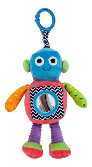 Robô Tommy Para Bebês Estímulo Visual,motor E Sensorial 20cm