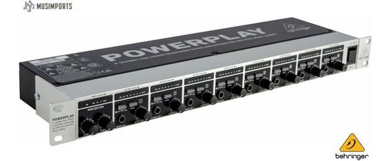 Amplificador Behringer Powerplay Ha8000 Ha 8000 Bivolt Fones