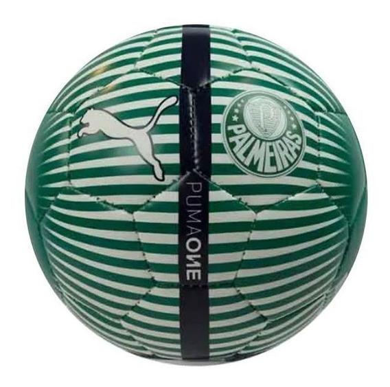 Mini Bola Puma Palmeiras Branca