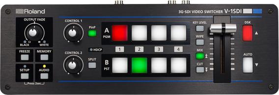 Switcher De Video Roland V 1sdi 4 Canais