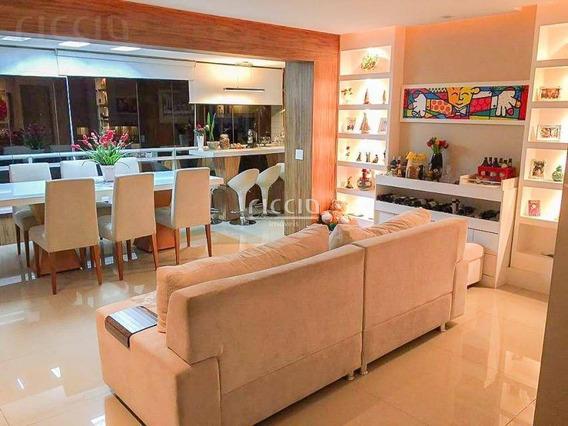 Cobertura Com 3 Dormitórios À Venda, 282 M² Por R$ 1.325.000,00 - Vila Ema - São José Dos Campos/sp - Co0076