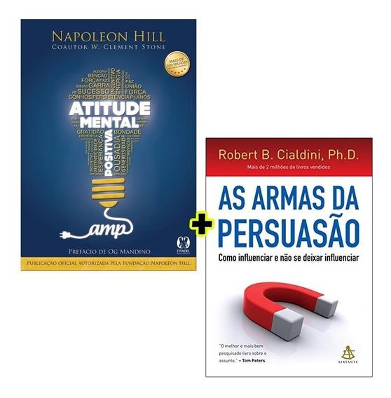 Livros - As Armas Da Persuasão + Atitude Mental Positiva