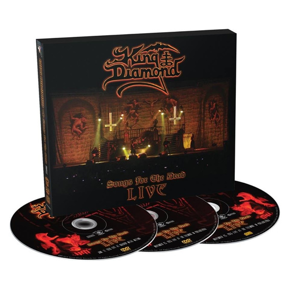 King Diamond - Songs For The Dead Live (2 Dvds + Cd + Poster