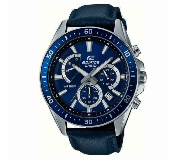Relógio Casio Edifice Cronógrafo Analógico Efr-552zl-2av