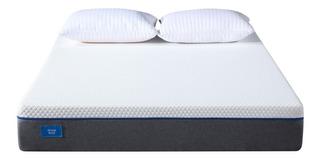 Colchon Alta Densidad 160x200 Con Memory Foam Sleep Box