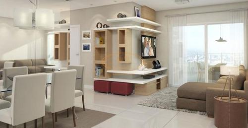 Apartamento  Com 3 Dormitório(s) Localizado(a) No Bairro Boqueirão Em Praia Grande / Praia Grande  - 6174