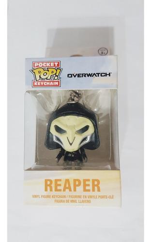 Pocket  Pop Keychain Overwatch Reaper Original Nuevo