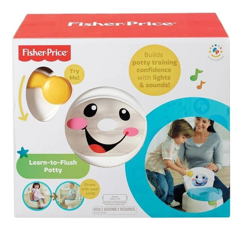 Bacin Musical Entrenadora Real 3en1 Fisher Price Unisex