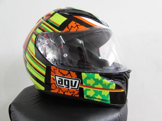 Capacete Agv K3 Sv Elements Valentino Rossi (c/ Visor)