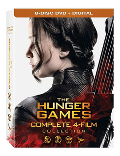 The Hunger Games Colección Completa, 8 Dvd