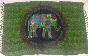 Canga Verao Elefante Toalha Mandala 100% Viscose 2018 Praia