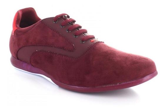 Tenis Para Hombre Emilio Bazan 12505-050601 Color Rojo