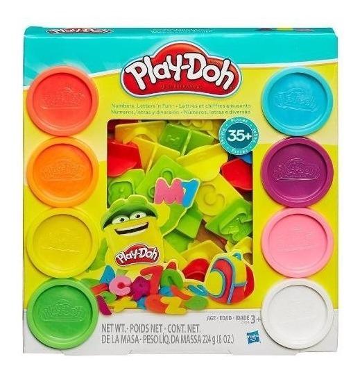 Kit Massinha Play-doh Letras E Números - Hasbro 21018