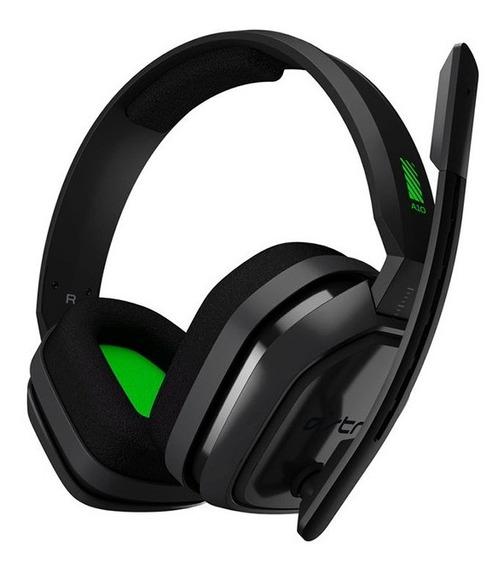 Audífono Gamer Astro A10 X Box 1 Negro Verde