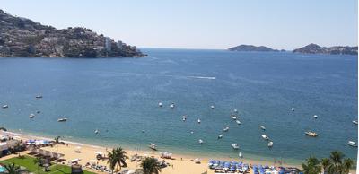 Padrisimo Departamento Nuevo En Acapulco. Frente Al Baby´o.