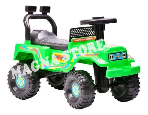 Andador Andarin Pata Pata Jeep Basico Rodacross 1a4 Años