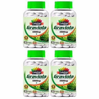 Graviola 1000mg - 4x 180 Comprimidos - Lauton