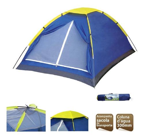 Barraca Camping 4 Pessoas Iglu Mor Impermeavel Frete Grátis