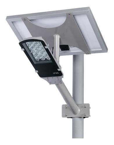 Lampara Solar Led 24w Alumbrado Luminaria Panel Recargable